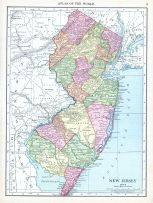 New Jersey, World Atlas 1913